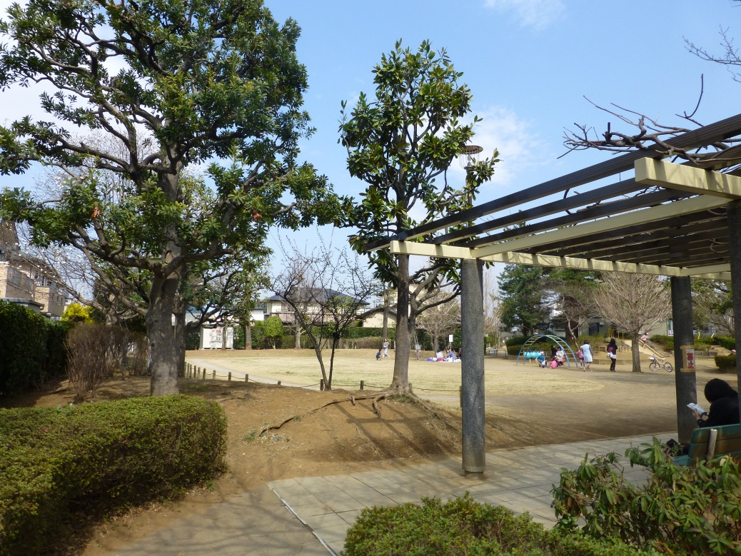 A park in Kawagoe's Isehara neighborhood