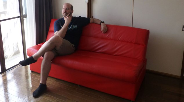 Our new sofa