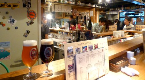 Baird Brewing's Harajuku Taproom