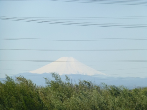 Fujiyama from the car