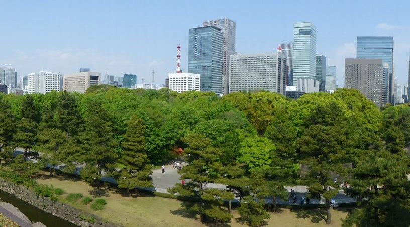 Tokyo's skyline