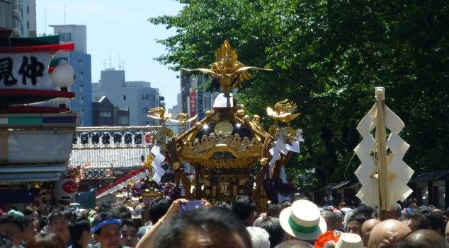 Shrine parade