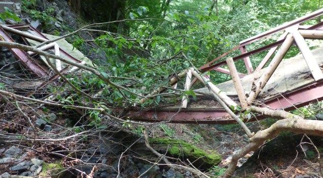 Collapsed Bridge