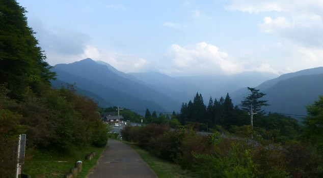 Leaving Mitsumine