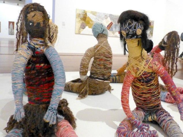 Indigenous string art