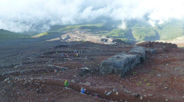 Mt. Fuji Switchbacks