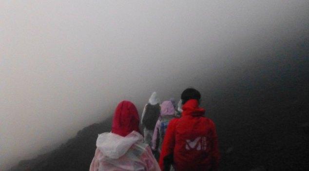 Mt Fuji Descent