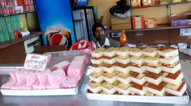 Barfi Vendor