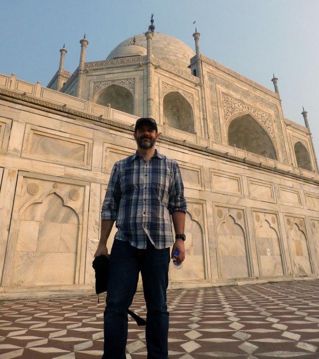 Taj Mahal - Back Corner
