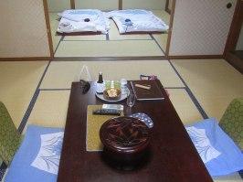 Our room at Hinodeya Ryokan