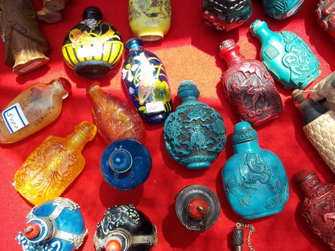 Vintage perfume bottles are popular with collectors around the world.