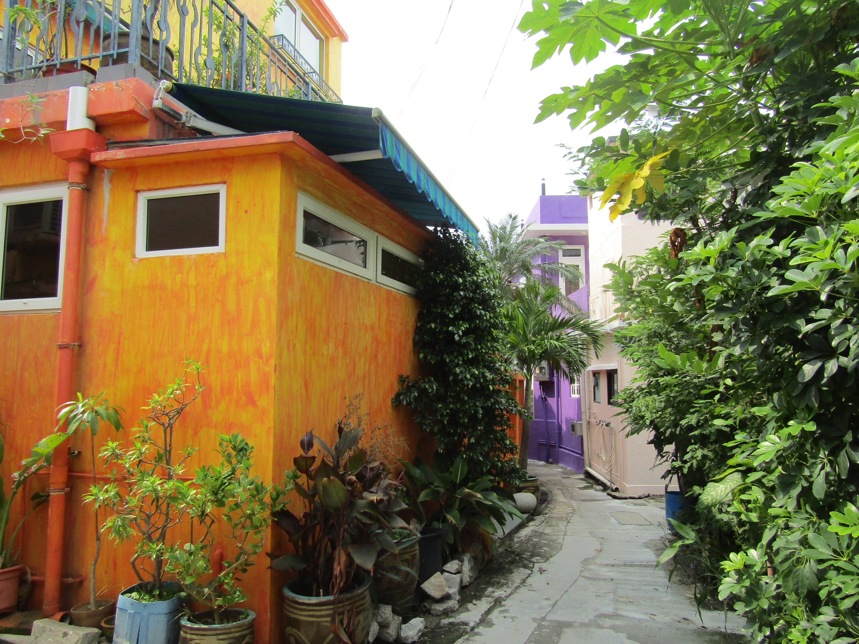 Established more than 200 years ago by local fishing clans, the quiet, colorful streets of Shek O Village feel a million miles from the city. The vibe was much like the coastal villages of Central America.