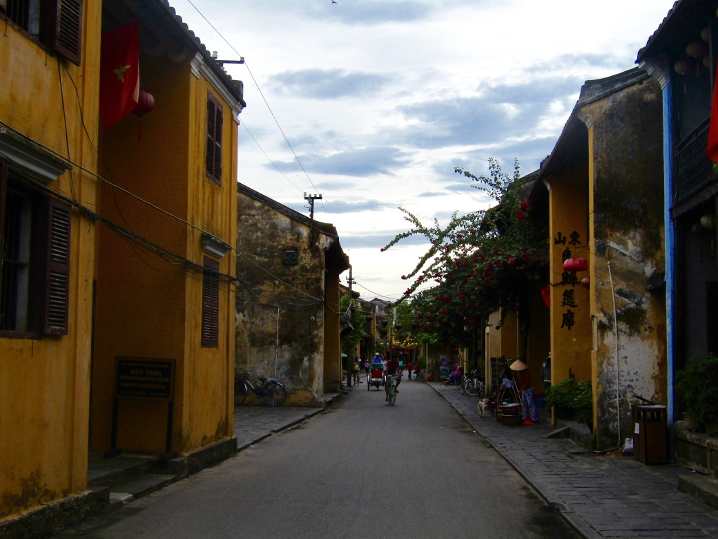 That moment you realize you've taken the same picture roughly 20 times is when you know you're seeing something special. Our memory card is full of variations of Hoi An street scenes. The bright colors, interesting angles and haunting lighting is a photographer's dreamーeven for point-and-shooters like us.