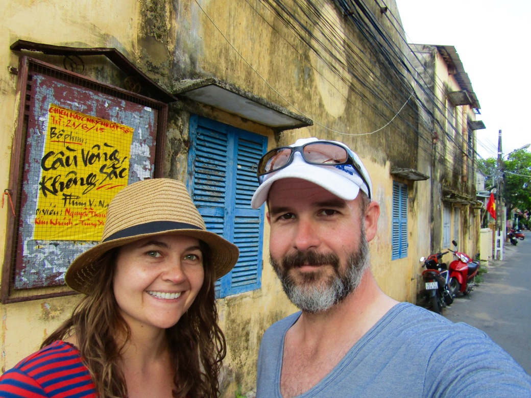 A moment of serenity in the streets of Hoi An.
