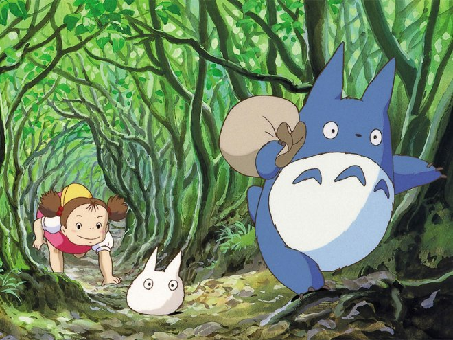 Entering the world of Totoro