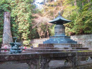 The tomb of Tokugawa Ieyasu, the Shogun of Japan in the early 1600s. The Tokugawa Shogunate ruled Japan for more than 200 years, laying the foundation of the country's imperial era.