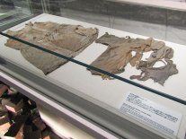 Tattered school uniforms worn on the day of the bombing.