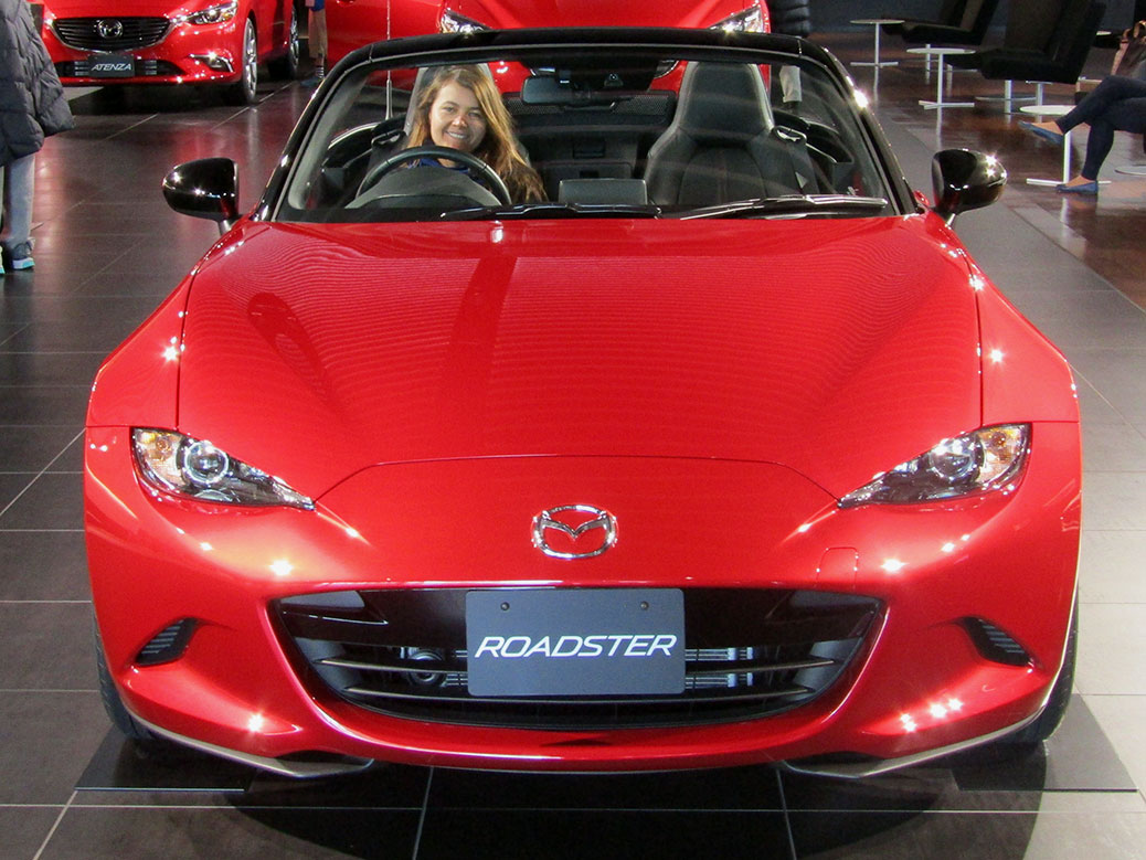 The 2016 Mazda Miata Roadster