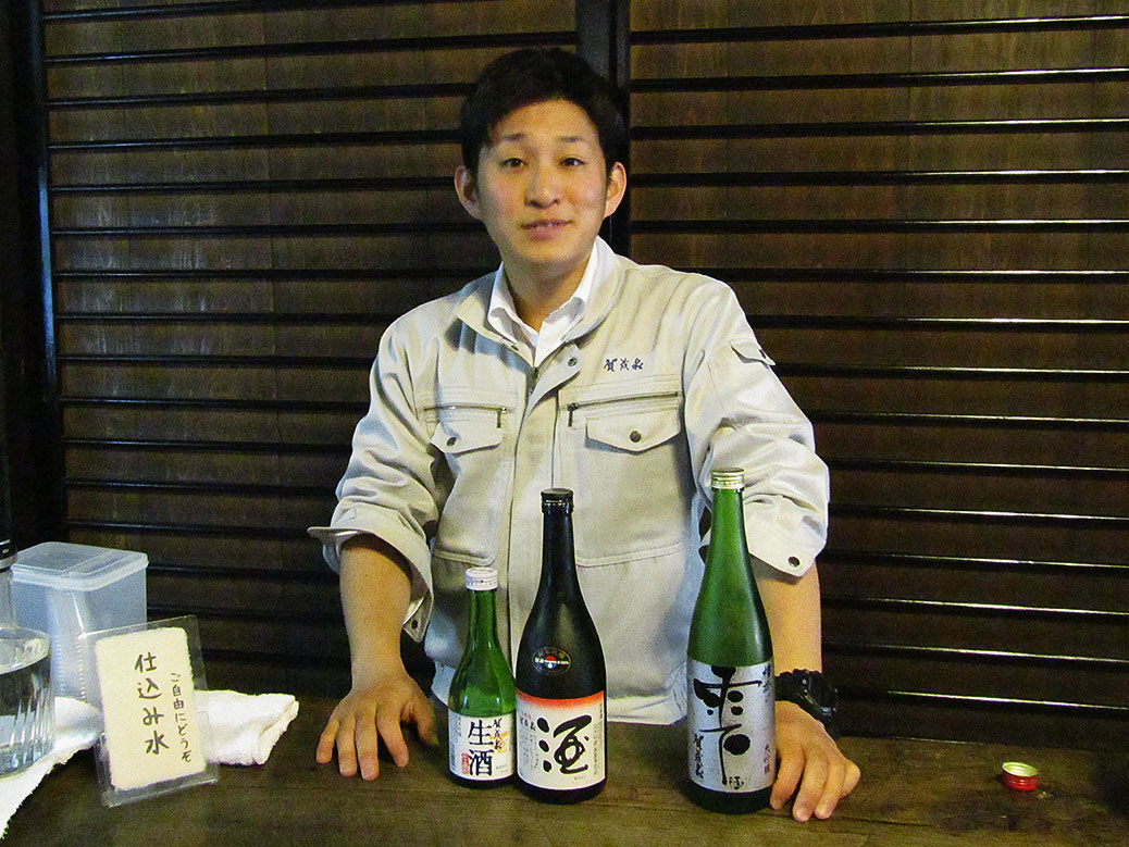 The samples at Kamoizumi were some of my favorites of the day and the host was great.