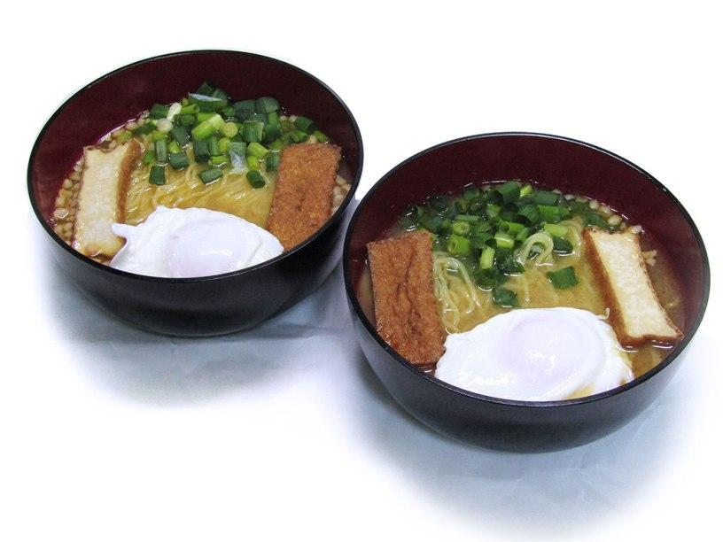 Homemade vegetarian ramen