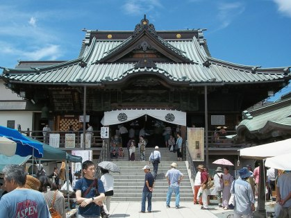 Kawagoe Naritasan Betsuin, a Buddhist temple that also hosts the monthly Kawagoe Shrine Sale