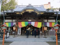 Renkeiji Temple is on the city's Seven Lucky Gods walking tour and hosts the monthly Kawagoe Farmers Market