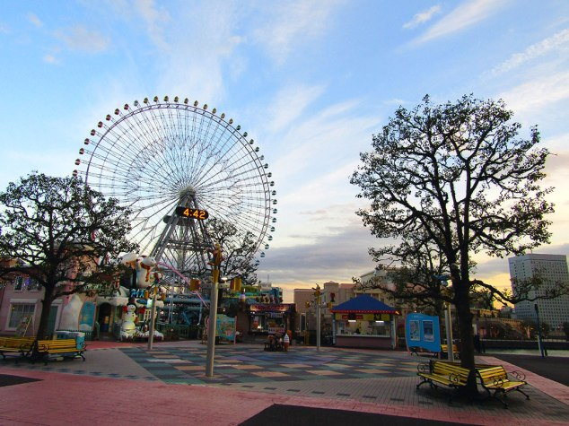 The Cosmo Clock 21 in the Minato Mirai 21 district was the world's largest ferris wheel when built in 1989.