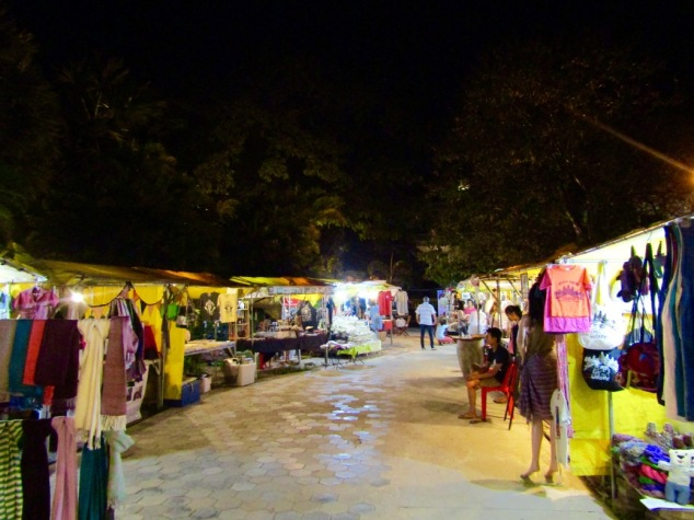 The Made in Cambodia market is hosted on the grounds of Shinta Mani Resort. The market features amazing work from local artisans, a few food carts and live music and dance performances a few times a week.