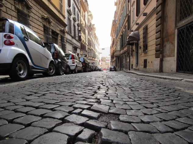 "The streets of Italy's largest city are still paved in cobblestone. Locally, the stones are known as ""SanPietrini,"" or ""Little St. Peters."" The name most likely came from the stones first appearing in St. Peter's Square, but local legend says there's one cobblestone for every soul saved by St. Peter. If that's the case, that's a lot of souls!"