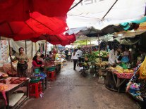 Phsar Leu, a local market located just outside our hostel on the edge of Siem Reap.