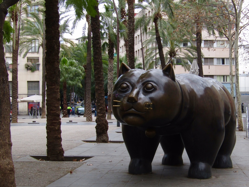 El Gat, Barcelona's favorite fat cat.