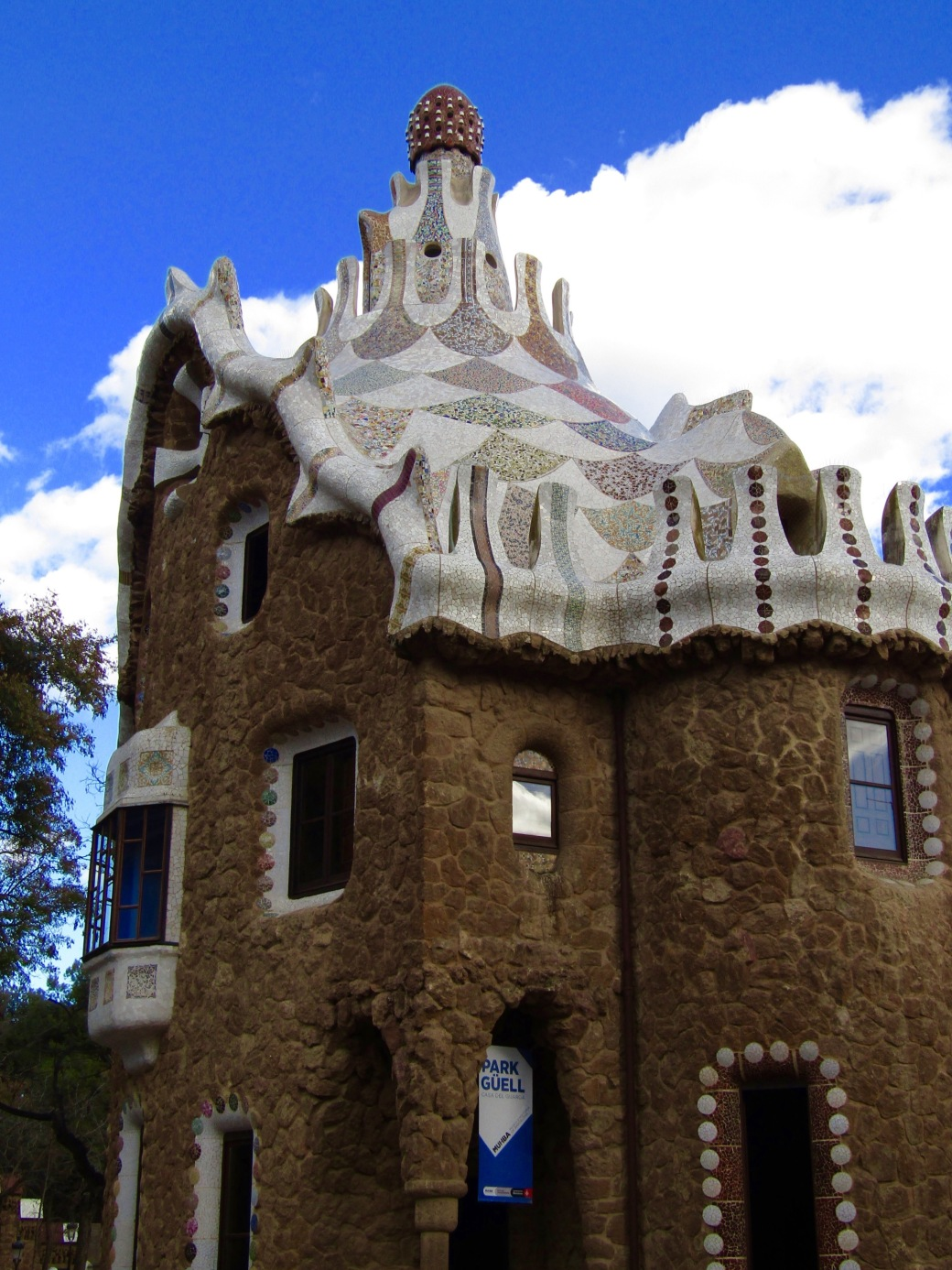 The Porter's Lodge at Park Güell.