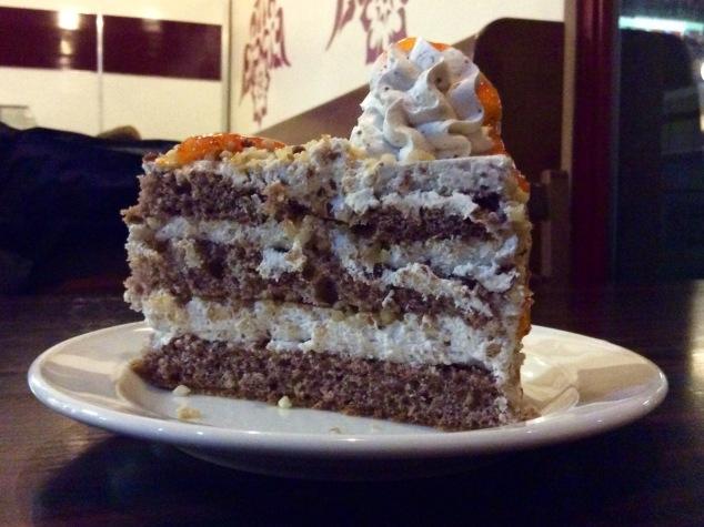 Cake at Simit Evi.