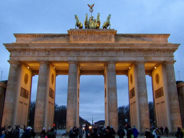 Built in 1791, the Brandenburg Gate originally served as the beginning of the road from Berlin to Brandenburg City. The gate was closed off during the wall era and became a symbol of reunification when the wall finally came down in 1989.