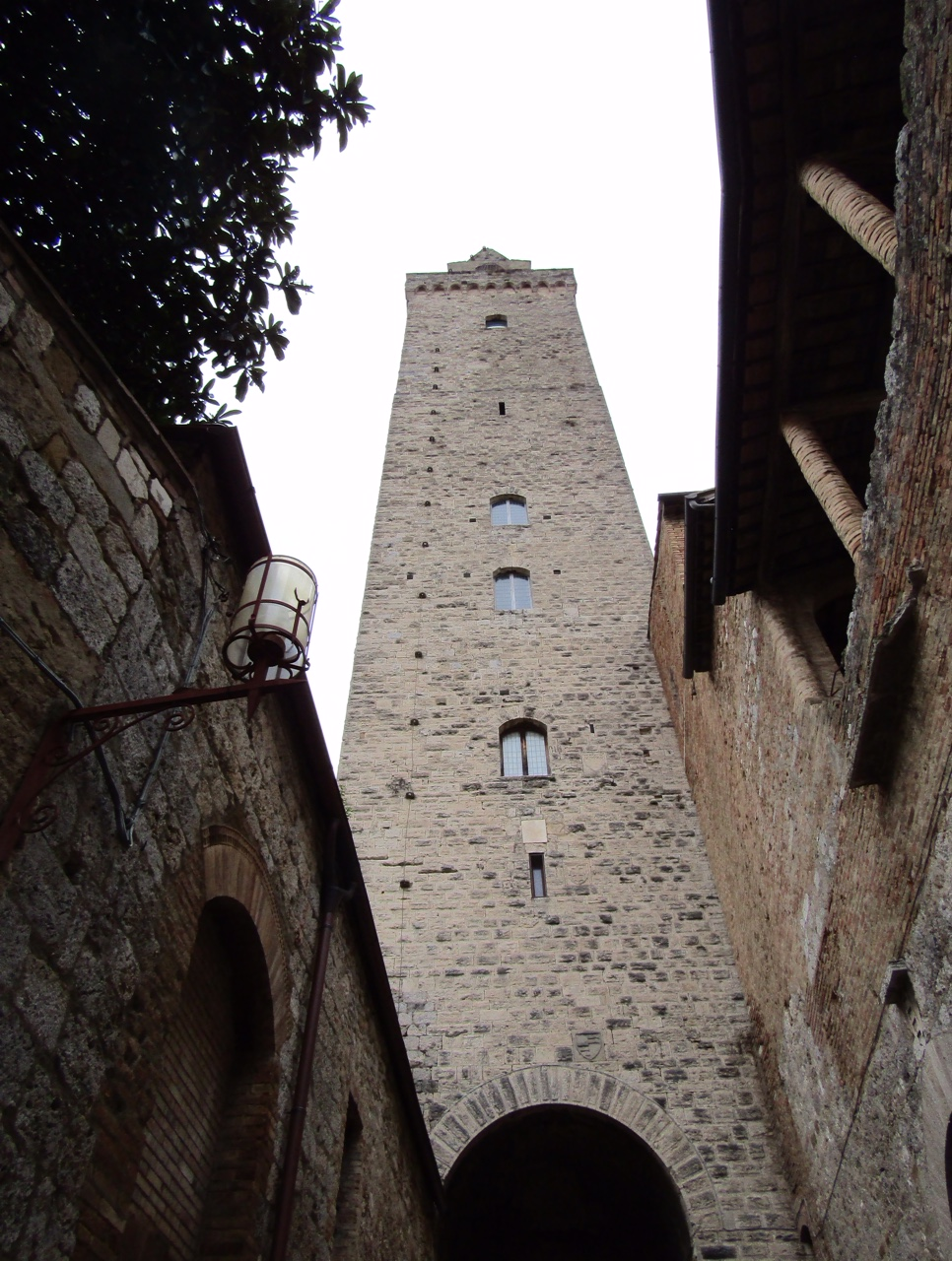 Torre Grossa, the tallest of San Gimignano's 14 towers.