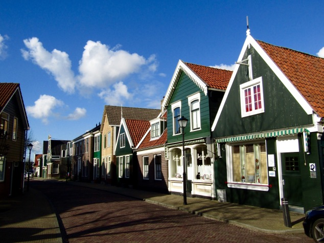 The old homes of Zaanse Schans date back to the 1600s.
