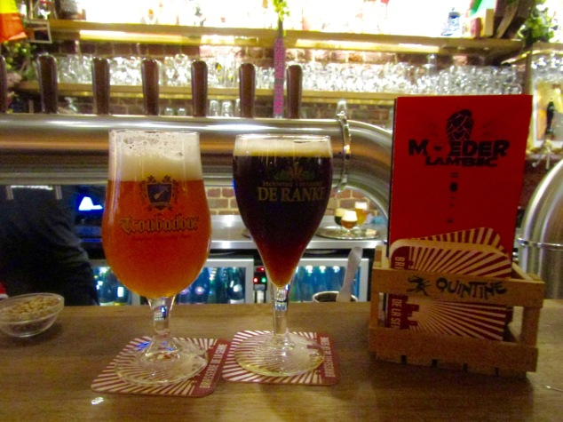 Troubadour Magma and Noir de Dottignies at Moeder Lambic.