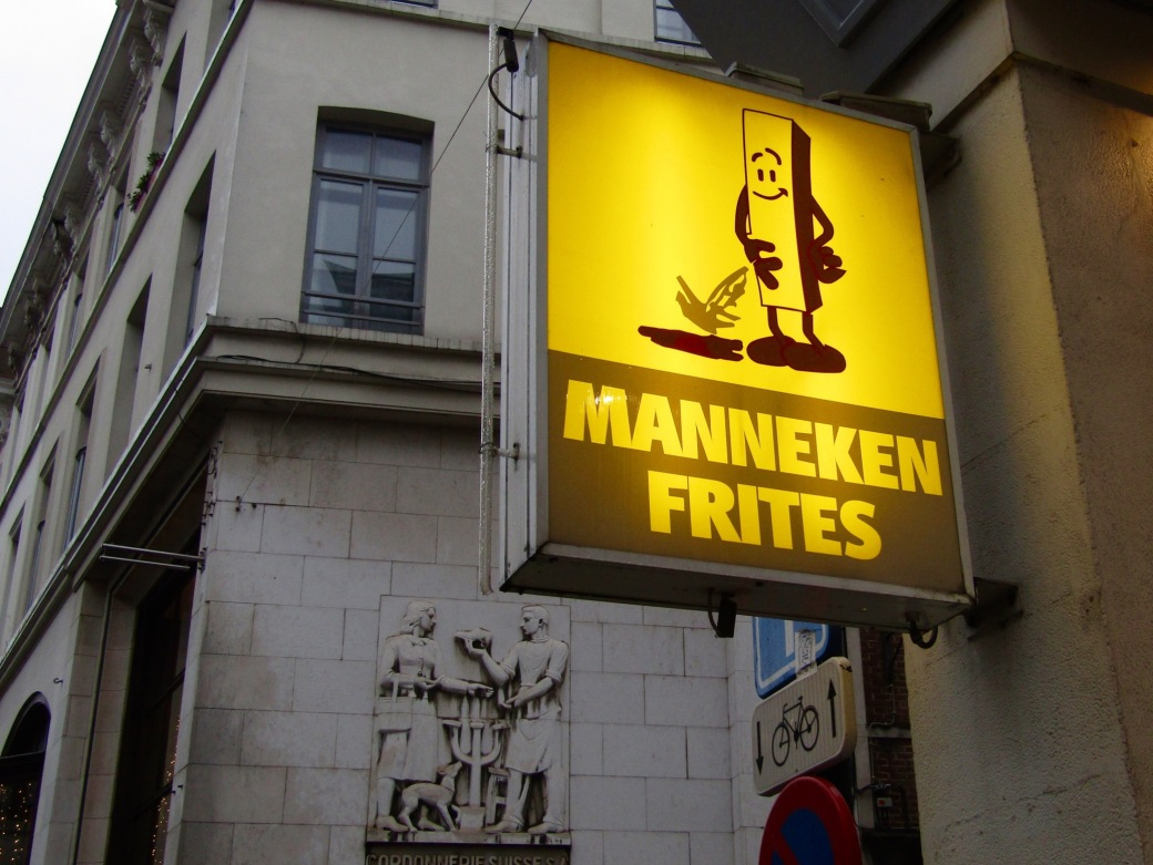 We didn't try the frites here for obvious reasons.