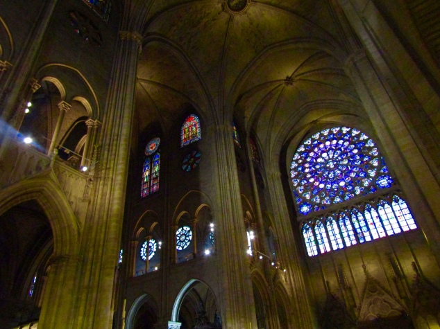 Notre-Dame's South Rose Window tells the story of the New Testament. It's considered one of the most important pieces of art in all of Christianity.