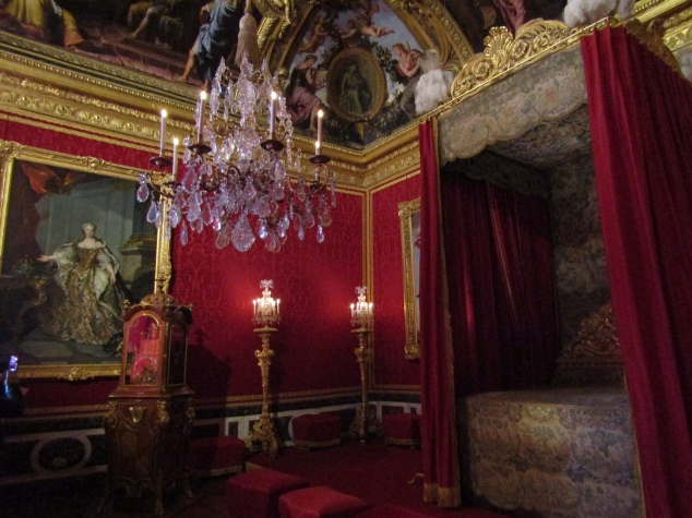 The extravagant Mercury Salon in the Grand Apartment was more often home to gaming tables than sleepover guests.