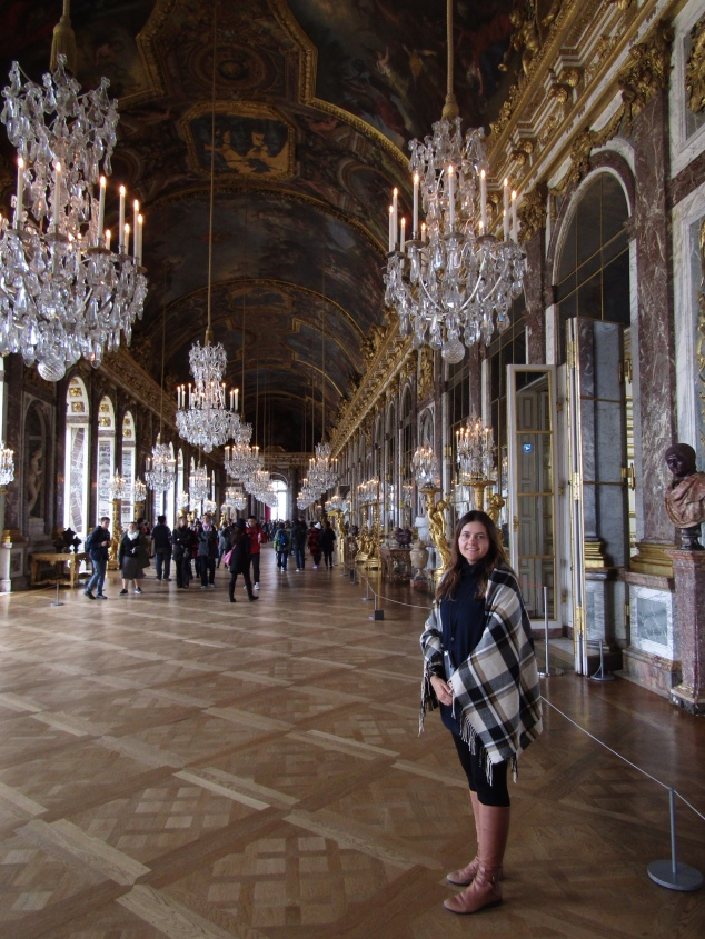 The 240-feet long Hall of Mirrors was a passageway for visitors waiting for an audience with the king. The ostentatiousness of the hall was intentional as visiting foreign leaders would have to make their way through this show of French power.