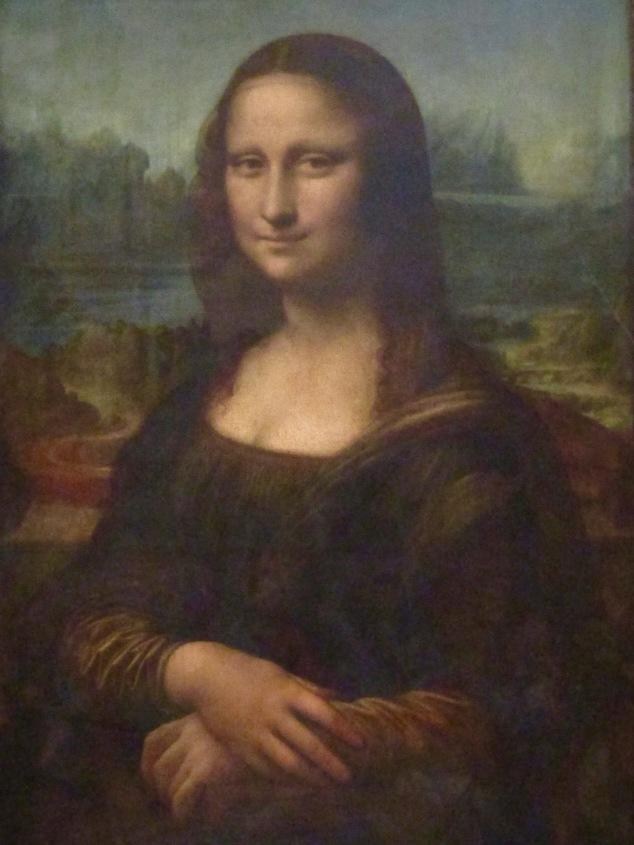 Leonardo Da Vinci's famous Mona Lisa.