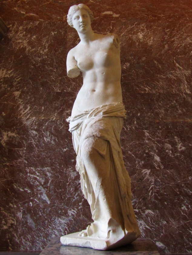 Venus de Milo at the Louvre.