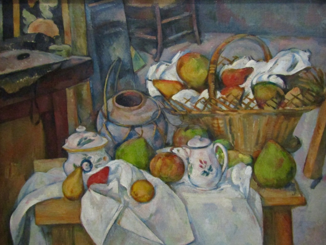 Post-Impressionist Paul Cezanne was famous for his still-life works, often involving food. Many of his works are on display at the Orsay.