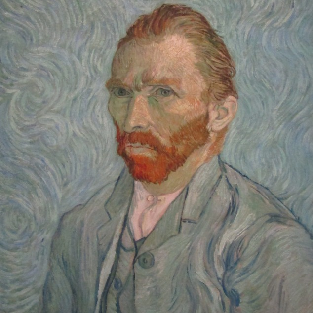 One of two self-portraits by Vincent van Gogh on display at the Orsay. The museum has 25 of the artist's pieces, including one from his Starry Night series.