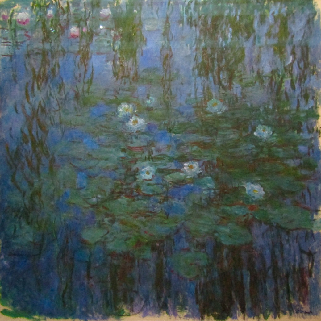 One of Claude Monet's famous Water Lillies series at the Orsay.