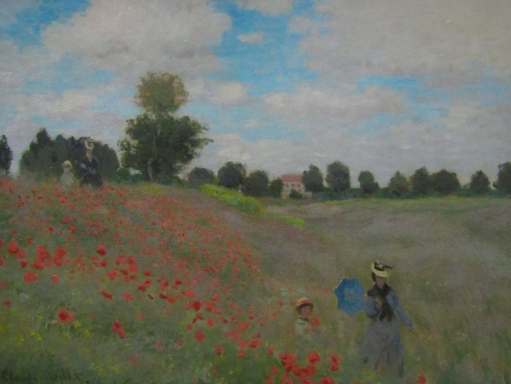 Monet's Poppy Fields is one of Viktoria's favorites.