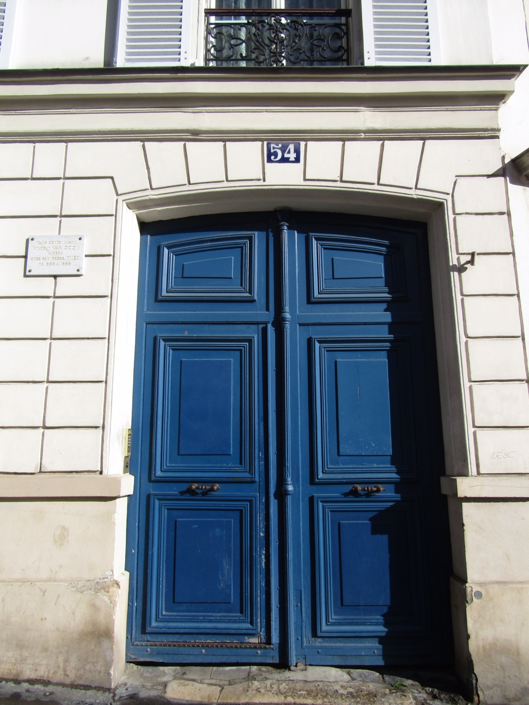 House 54 on Rue Lepic once belonged to Vincent van Gogh's brother Theo, who allowed the struggling artist to live and work there while developing his signature style.