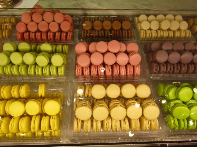 Macarons at Ladurée
