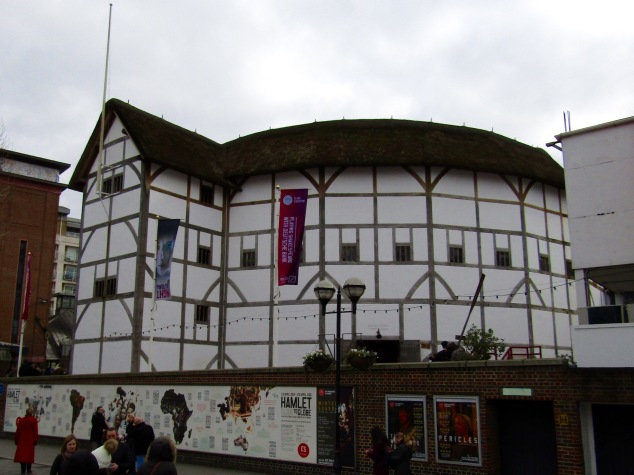 417 years later, the Globe Theater is still home to Shakespeare's best works. The current version however is just 19 years old.